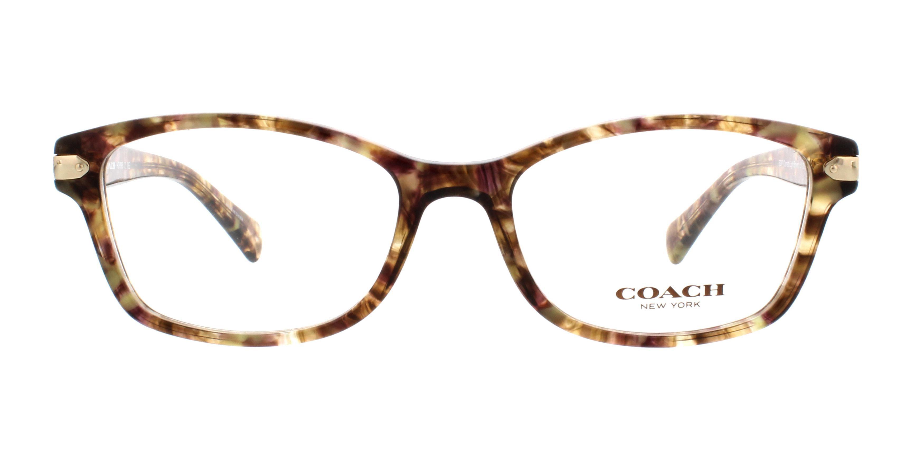 66c58d54a154 COACH Eyeglasses HC6065 5287 Confetti Light Brown 51MM - Walmart.com