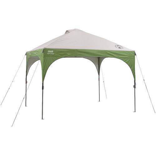 Click here to buy Coleman 10'x10' Instant Straight Leg Canopy   Gazebo (100 sq. ft Coverage) by COLEMAN.