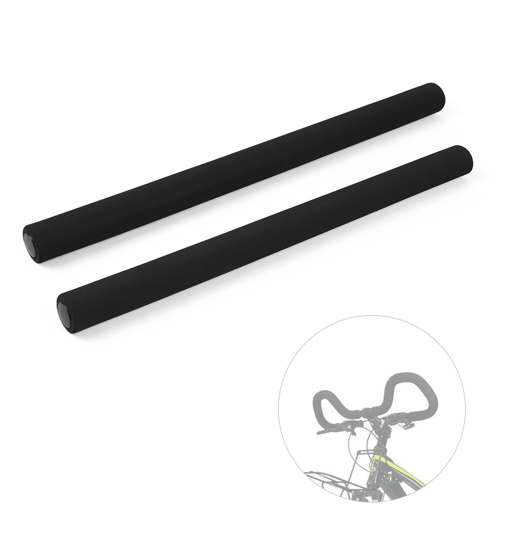 Details about  /Black Foam Rubber Bufferfly Tube Handlebar Cover for MTB Road Bike Bicycle