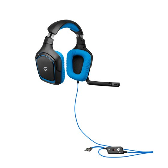 79f4dbb0cc2 Logitech G430 Headset: X and Dolby 7.1 Surround Sound Gaming Headset -  Walmart.com
