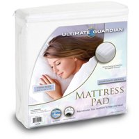Ultimate Guardian, Mattress Pad, Overfilled Striped Quilt
