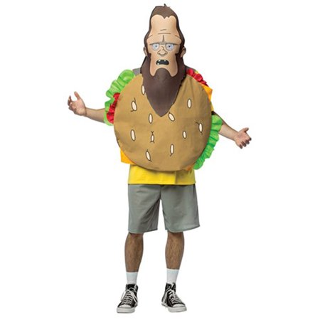 Bobs Burgers Meatsquatch Headpiece Only, One (Bob's Burgers Restaurant Halloween)