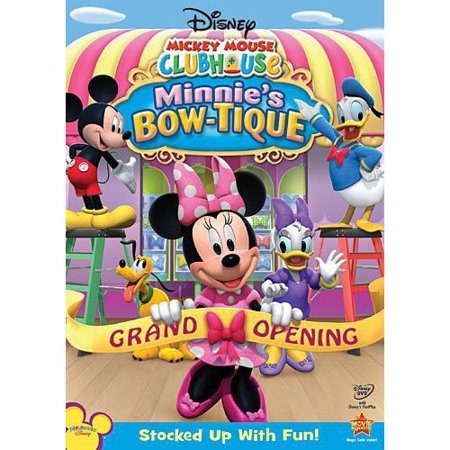 Mickey Mouse Clubhouse  Minnies Bow Tique  Full Frame