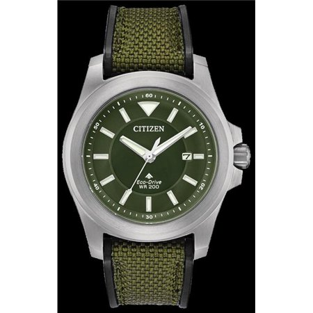 Citizen Bn0211 09x Eco Drive Promaster Tough Military Green Mens Watch