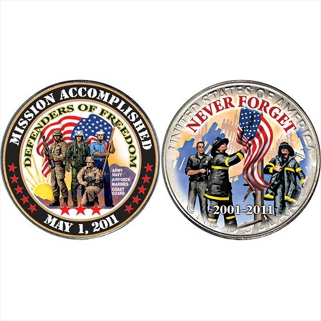 American Coin Treasures 11128 Mission Accomplished Coin - Defenders of Freedom Coin