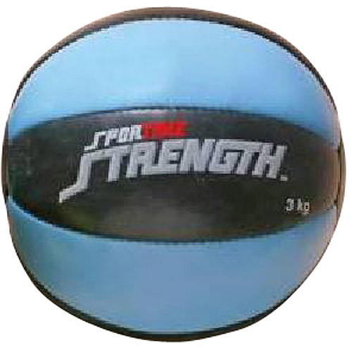 Sportime Strength Medicine Balls, Blue and Black, 6.6 lbs