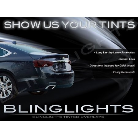 New Chevy Impala Smoked Taillamp Overlays Murdered Out Taillight Kit Protective Lense Film (Best Way To Smoke Out Tail Lights)