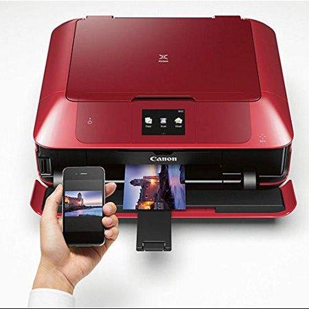 Canon Pixma Mg7720 Inkjet Multifunction Printer - Color - Photo/disc Print - Desktop - Copier/printer/scanner - 21 Second Photo - 9600 X 2400 Dpi Print - Support Borderless Media, Plain (0596c042aa)