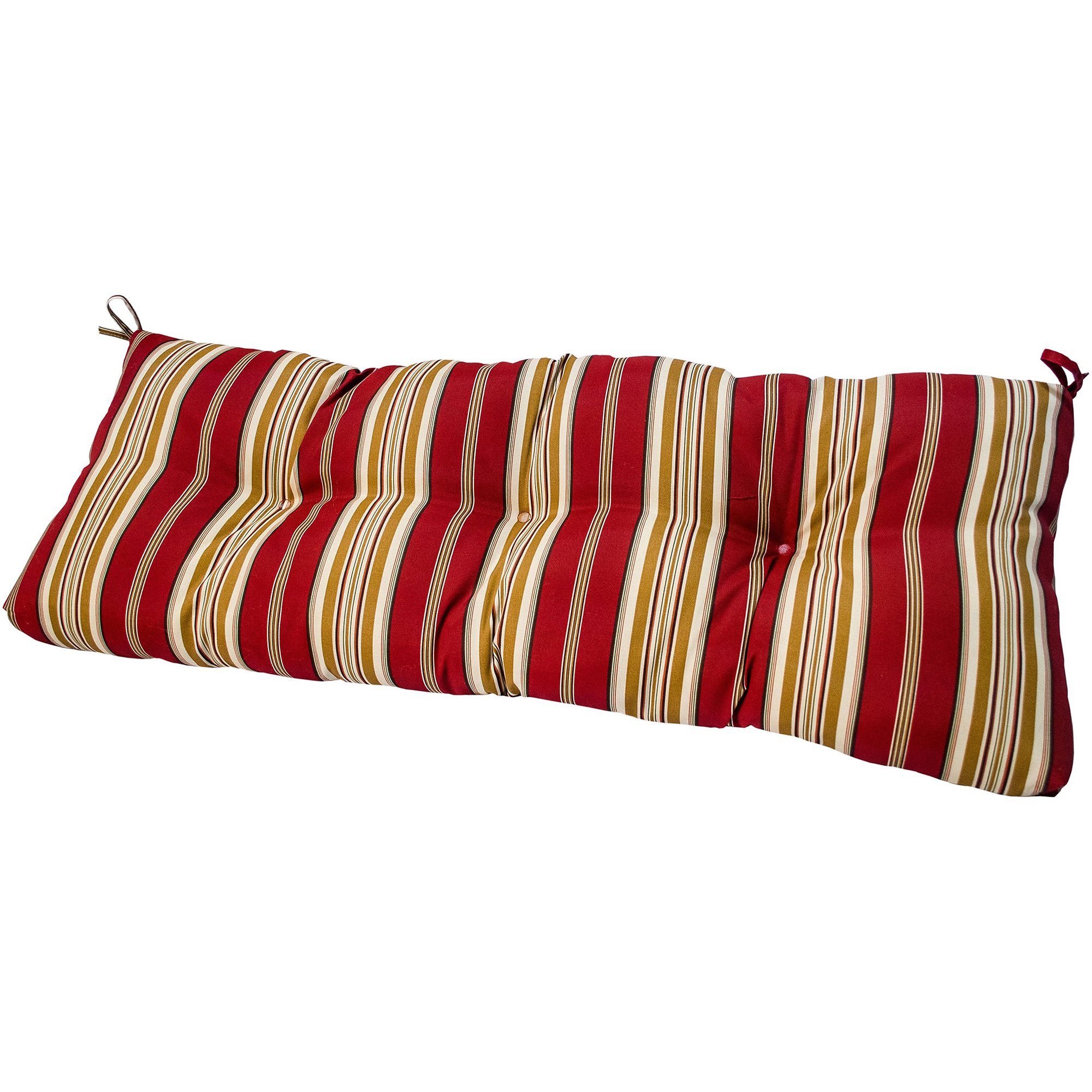 """Greendale Home Fashions 44"""" Outdoor Swing/Bench Cushion, Roma Stripe"""