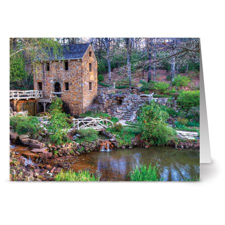 24 Note Cards - Stone House Living - Blank Cards - Kraft Envelopes Included