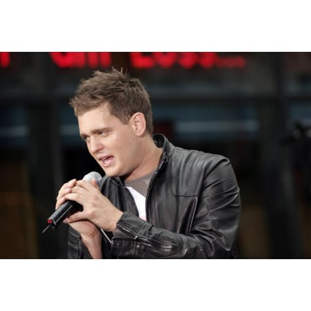 Michael Buble On Stage For Nbc Today Show Concert Rockefeller Center New York Ny August 19 2005 Photo By Fernando LeonEverett Collection (Michael Buble Caught In The Act Home)