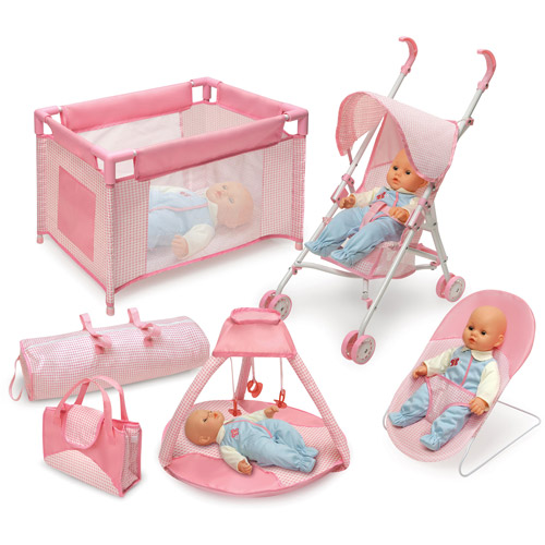 Badger Basket Doll Furniture and Accessory 5-Piece Set ...