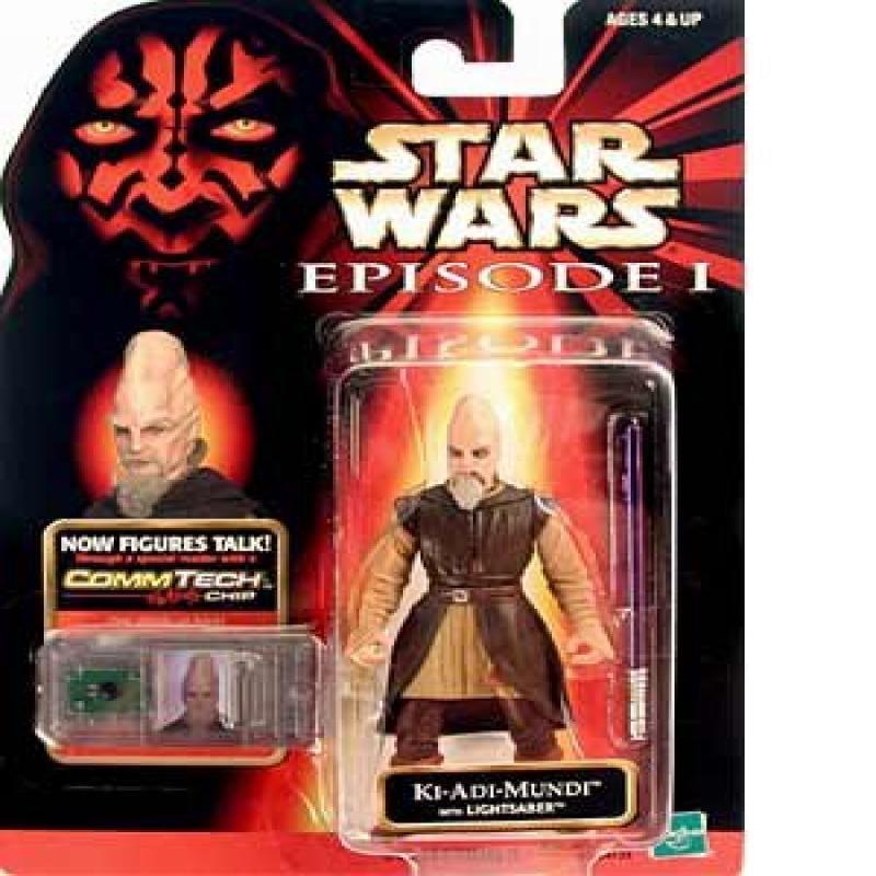 Star Wars Episode I: The Phantom Menace, Ki-Adi Mundi Action Figure, 3.75 Inches 76976