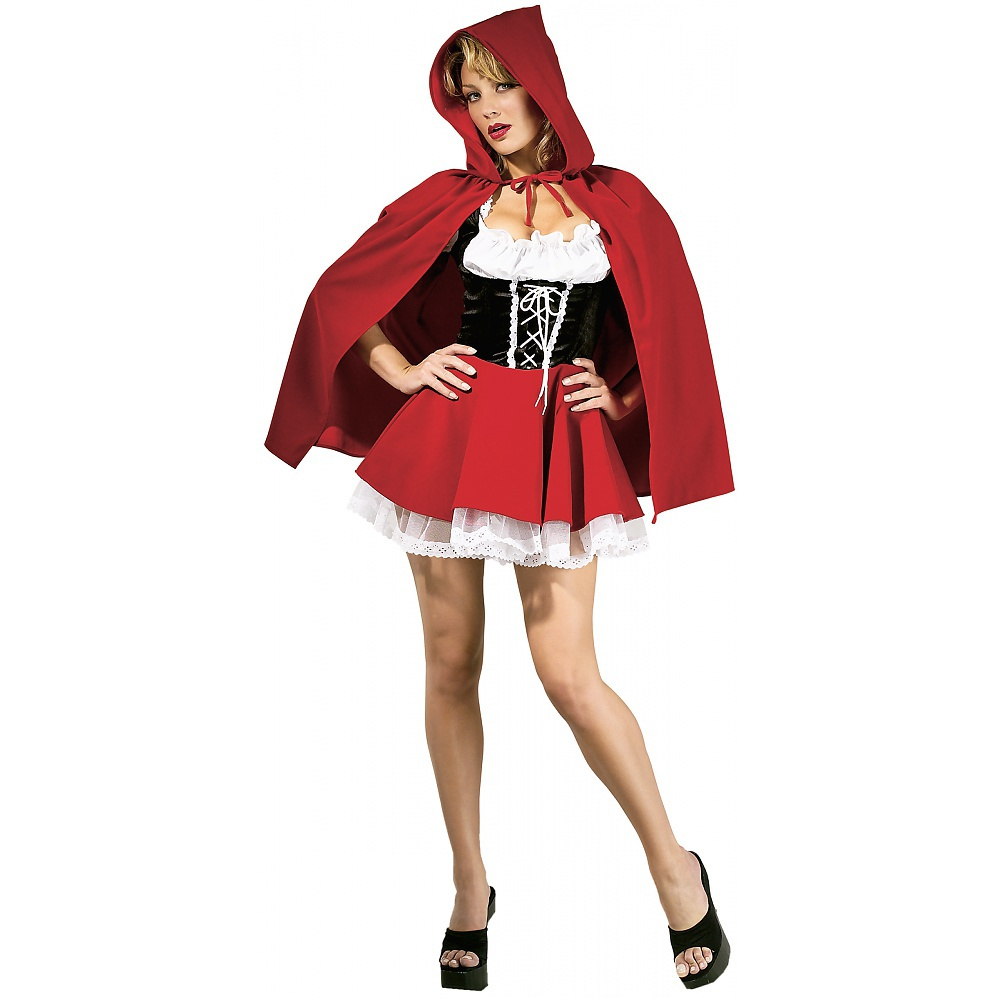 Red Riding Hood Adult Costume - Large
