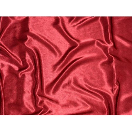 Satin Crepe Solid Fabric CRANBERRY / 60