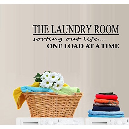 Decal ~ THE LAUNDRY ROOM, SORTING OUT LIFE ~ #4 WALL DECAL, HOME DECOR 8