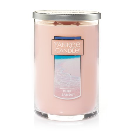 Yankee Candle 2-Wick Glass Tumbler Candle Pink Sands 22oz