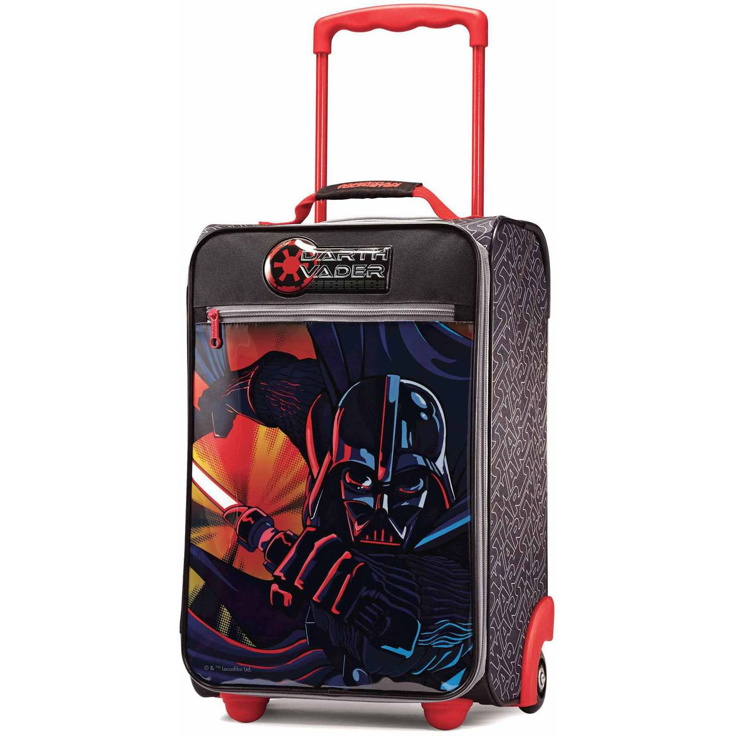 "American Tourister Disney Star Wars Darth Vader 18"" Upright Soft Side Suitcase"