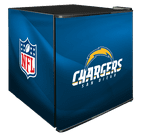 NFL Solid Door Refrigerated Beverage Center 1.8 cu ft - San Diego Chargers