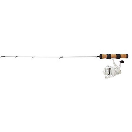 Frabill njord spinning reel fishing combo 22 ultra for Ice fishing pole walmart