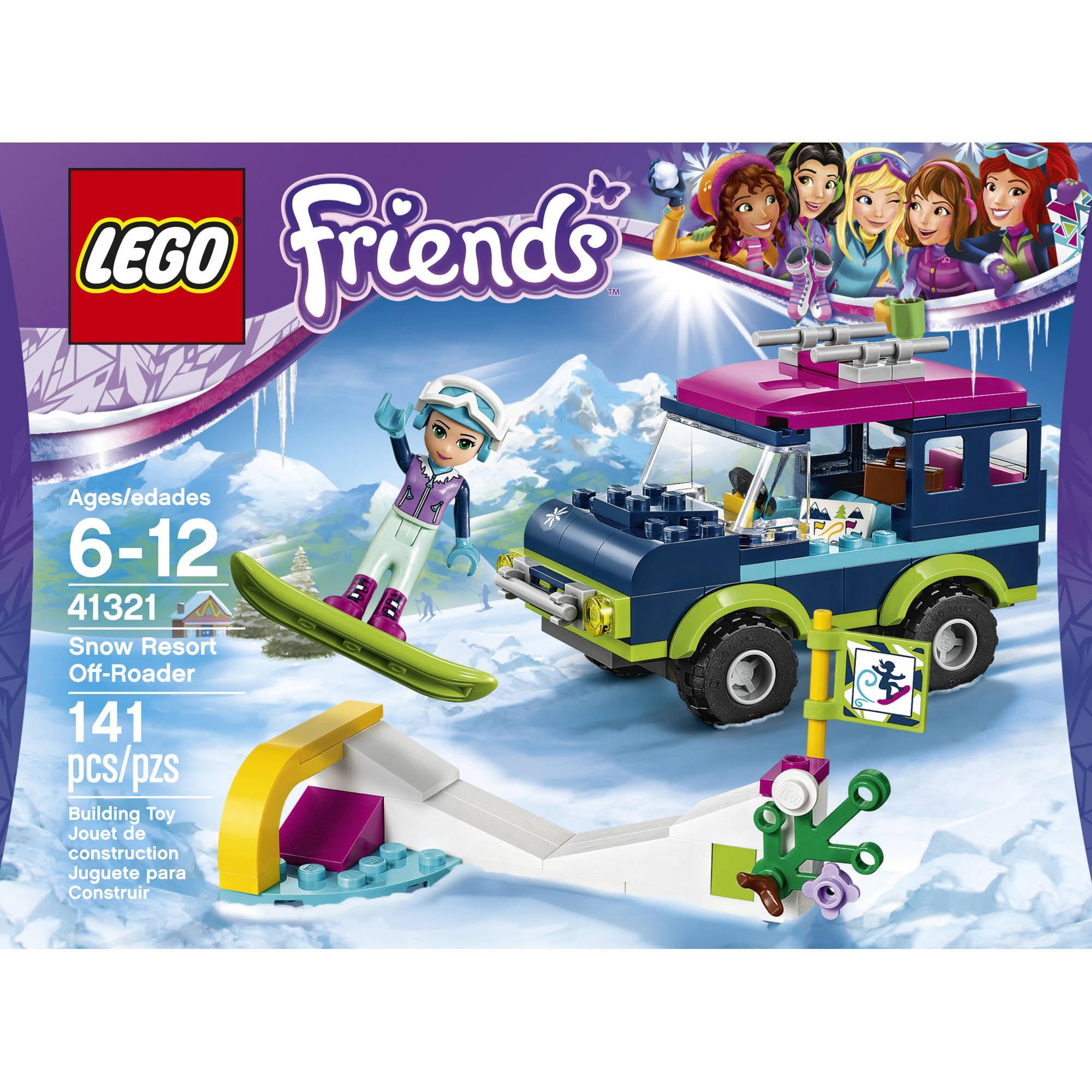 Lego Friends Snow Resort Off Roader 41321 Walmart