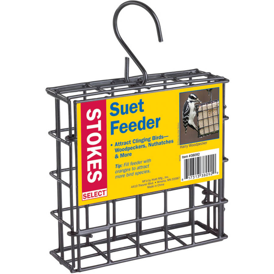 Stokes Select Suet Cake Birdfeeder, 1 Suet Capacity by STOKES NATURE COMPANY LLC