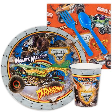 Monster Jam 3D Snack Party Pack