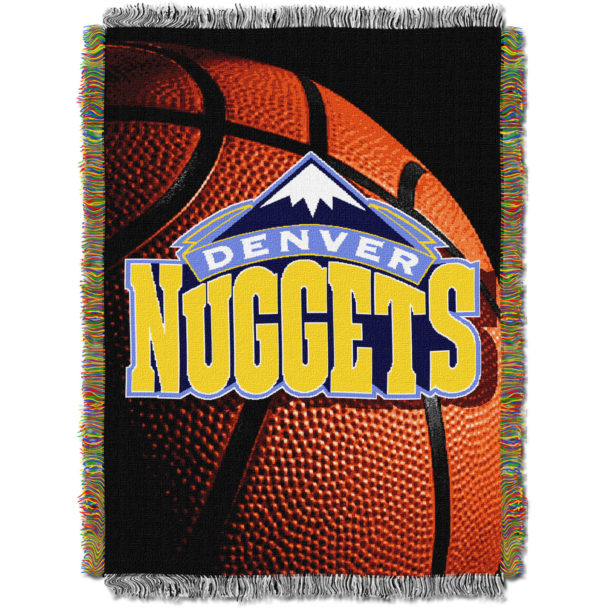 "NBA 48"" x 60"" Photo Real Series Tapestry Throw, Nuggets"