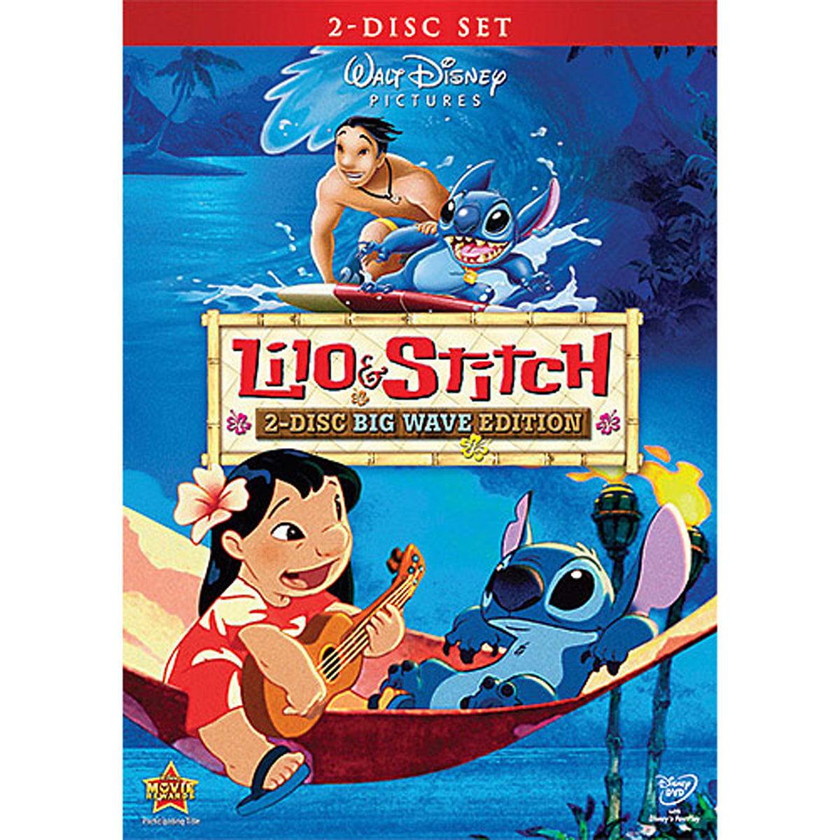 Lilo Stitch 2 Disc Big Wave Edition Dvd Walmart