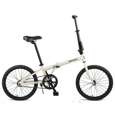 Retrospec Judd Folding Bike Single-Speed with Coaster Brake ()