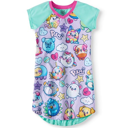 Girls' Pajama Nightgown (Little Girl & Big Girl)](Christmas Nightgowns Kids)