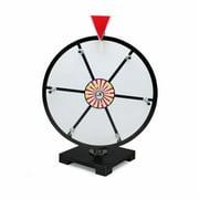 Brybelly GPRZ-002 12'' White Dry Erase Prize Wheel