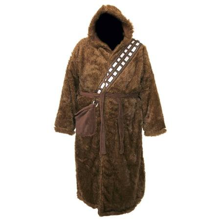 Star Wars Chewbacca Adult Bathrobe & Swim Suit Cover - Chewbacca Pajamas