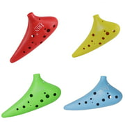 12 Hole Ocarina C Tone ABS Plastic Flute National Ocarina for Music Lover and Beginner Wind Instruments