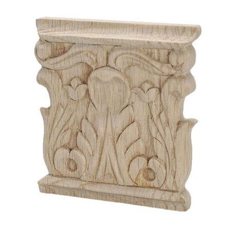 American Pro Decor 5Apd10428 Small Carved Wood Applique