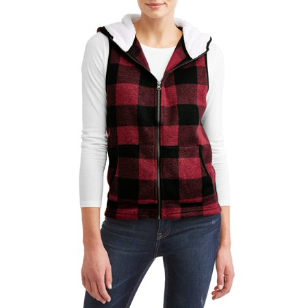 Pulse Women's Field Sweater Fleece Vest - Gangster Vest