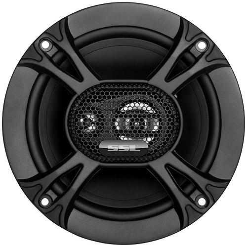 "SSL EX365 6.5"" 3-Way Car Speakers, 2-Pack"