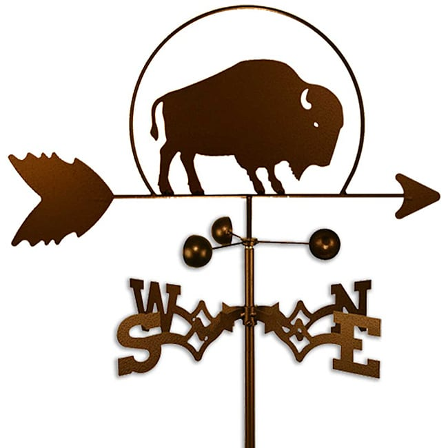 SWEN Products Inc Handmade Buffalo Bison Weathervane by Overstock