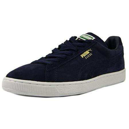 Puma Suede Classic + Men US 11.5 Blue Sneakers ()