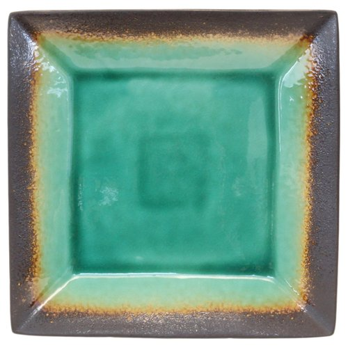 Better Homes and Gardens Jade Crackle Square Dinner Plate & Better Homes and Gardens Jade Crackle Square Dinner Plate - Walmart.com