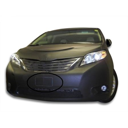 LeBra Front End Mask Cover-551237-01 fits Toyota Sienna Base,LE,XLE,L 2011,2012,2013,2014,2015,2016,2017