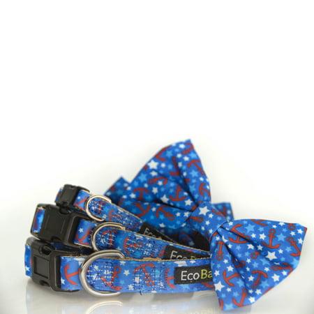 EcoBark Pet Supplies Eco-Friendly Nautical Buckle Dog Collar](Nautical Names For Dogs)