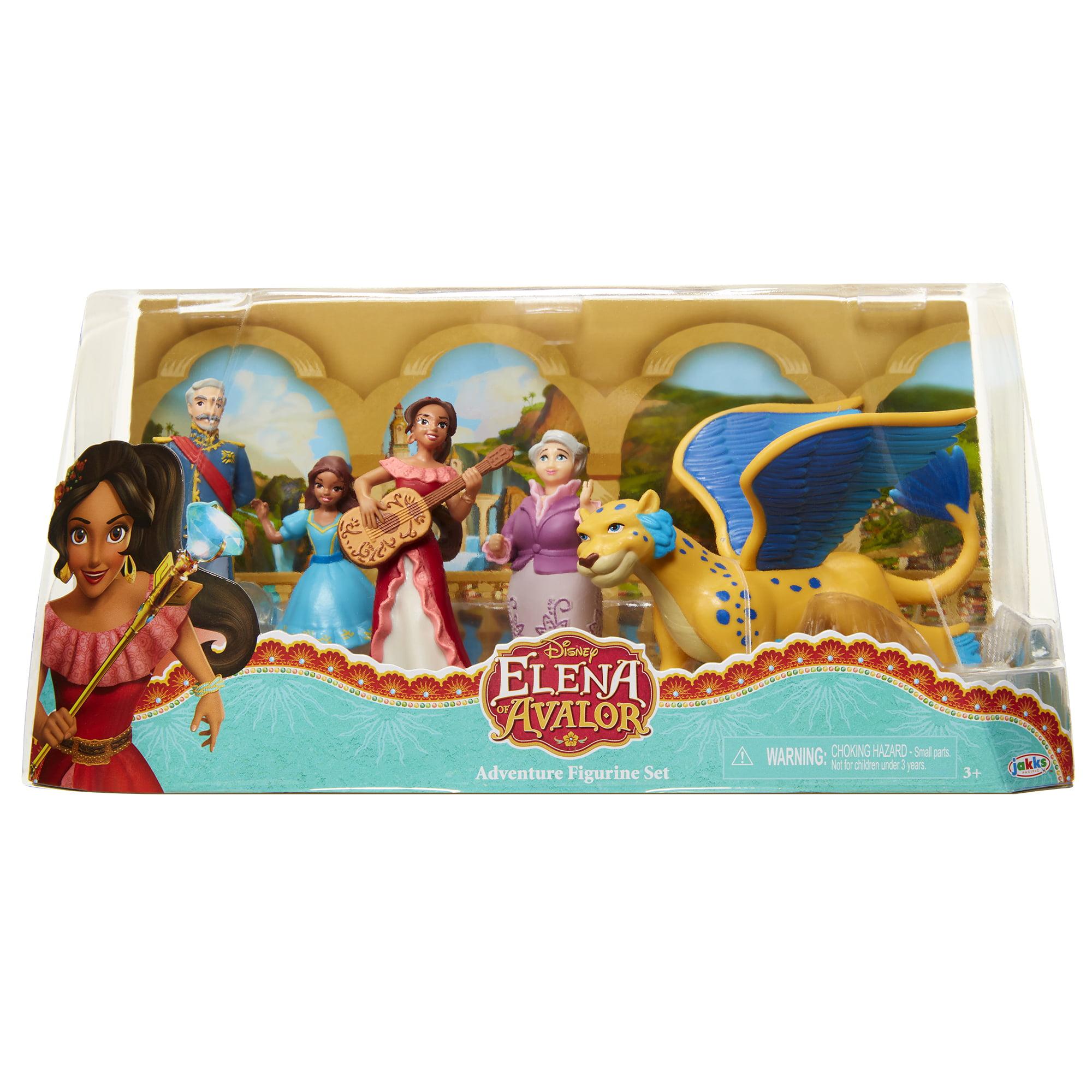 Elena Avalor Adventure Figurine Set by Jakks Pacific