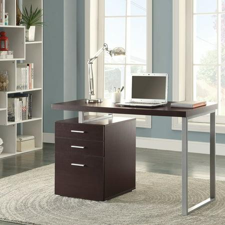 (Coaster Hilliard Office Desk in Modern Multiple Finishes)