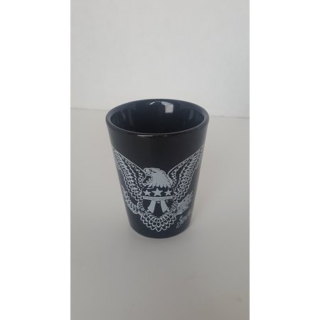 Jerry Rum (Sailor Jerry Rum Black Ceramic Shot Glass, 1 Premium Professional Series Sailor Shot Glass By Sailor Jerry)