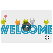 Welcome Balloons Walmart eGift Card