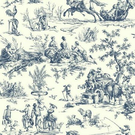 - Ashford Toiles Seasons Toile Wallpaper