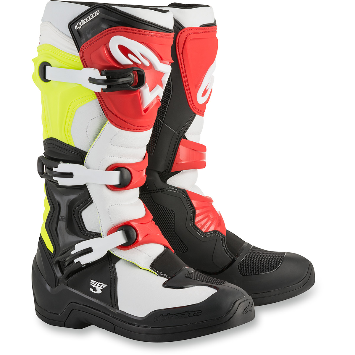 Alpinestars Tech 3 Boots Offroad Boot (solid Black, Usa Size 5)