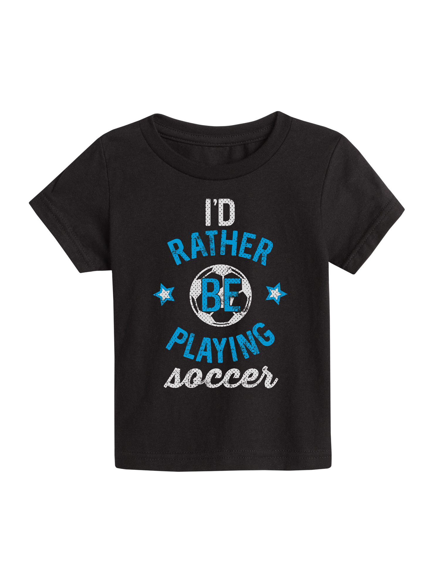 I'd Rather Be Playing Soccer Boy - Toddler Short Sleeve Tee