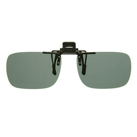 Solar Shield Unisex Rimless Polarized SolarShield ClipOn Sunglasses